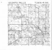Oconto Falls T28N-R19E, Oconto County 1987